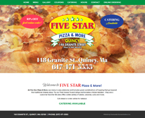 Five Star Pizza Quincy